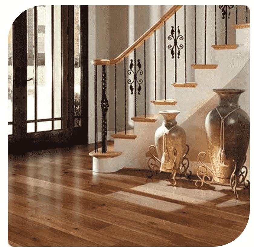 【木地板永吉】承载空间地面色彩 8个木地板搭配方案