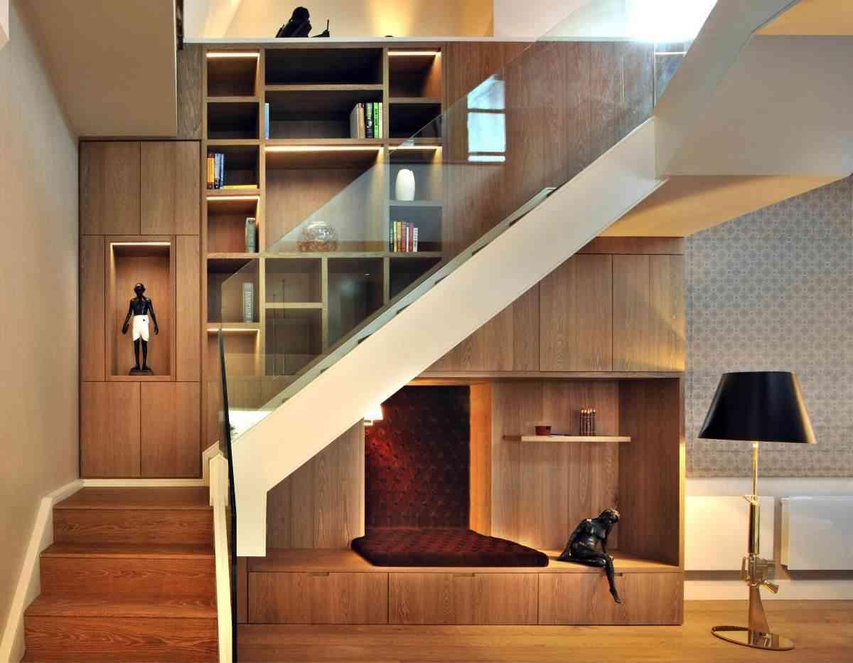 家居 楼梯 设计 书房 装修 1200_932